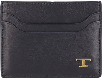 Tod's Tods Brown Leather Cardholder