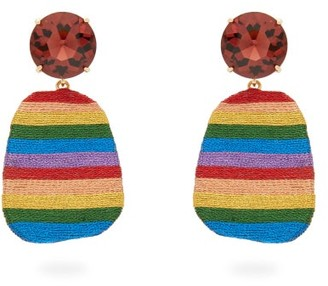 MaryJane Claverol After The Storm Crystal And Disc-drop Earrings - Multi