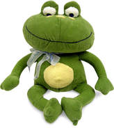 NoJo Jungle Babies Freddie the Frog Plush Decorative Pillow Bedding