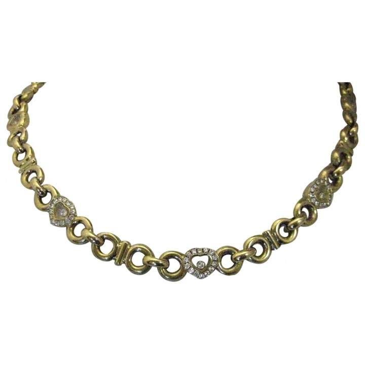 Chopard Happy Diamonds Yellow Yellow gold Necklace
