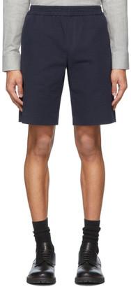 Harmony Navy Seersucker Pavel Shorts