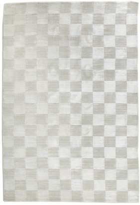 Jonathan Adler Checkerboard Hand-Knotted Rug