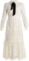 Temperley London New Moon guipure-lace dress