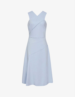 Reiss Paige woven midi dress
