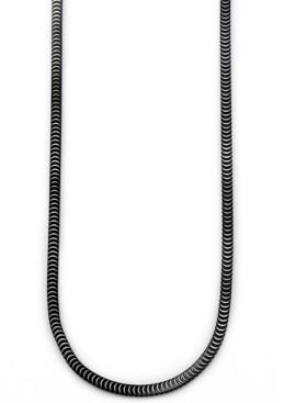 Sutton by Rhona Sutton Sutton Stainless Steel Snake Chain Necklace