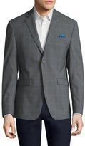 Original Penguin Wool Plaid Notch Lapel Sportcoat