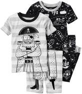 Carter's Boys 4-8 Pirates 4-Piece Pajama Set