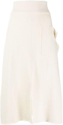 Cédric Charlier Fine Knit Skirt