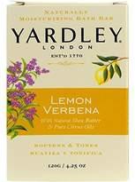 Yardley London Bar Soap, Botanical Lemon Verbena Shea, 4.25 Ounce