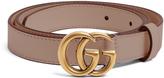 Gucci GG-logo 2cm leather belt