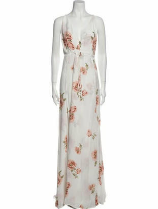 Reformation Callalily Long Dress White
