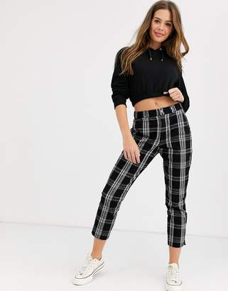 Hollister check skinny chino-Black