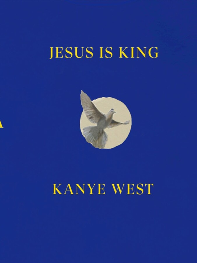 Thumbnail for your product : Yeezy 'Jesus is king' Dove crew-neck sweatshirt