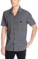 Barney Cools Men's Miami Short Sleeve Button Down Shirt