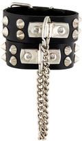 Dolce & Gabbana Leather Cuff Bracelet