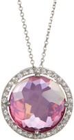 Suzanne Kalan 14K White Gold Pendant Necklace