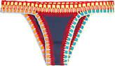 Kiini Bikini Bottom with Crochet Trim