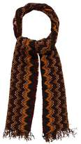 Missoni Patterned Knit Scarf