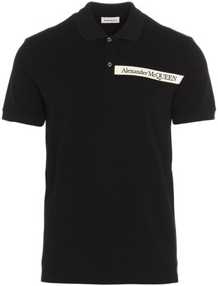 Alexander McQueen Logo Polo Shirt