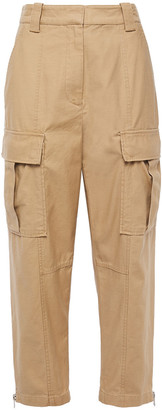 3.1 Phillip Lim Cropped Cotton Tapered Pants