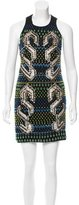 Peter Pilotto Embellished Mesh Dress