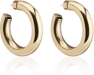 Jennifer Fisher Mini Jamma Gold-Plated Hoop Earrings