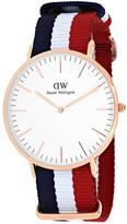 Daniel Wellington Classic Cambridge Collection 0103DW Men's Analog Watch