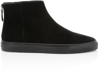 Grenson Suede High-Top Sneakers