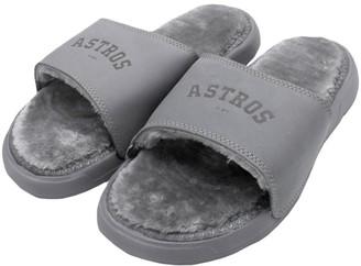 Men's ISlide Houston Astros Faux Fur Slide Slippers