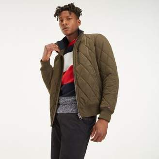 Tommy Hilfiger Diamond Quilted Bomber Jacket