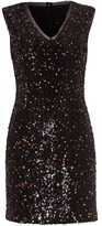 Damsel in a Dress Albanie Neon Sequin Dress