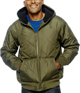 JCPenney Mountain Club Hooded Nordic-Fleece Jacket