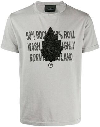 John Richmond beaded detail T-shirt