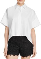Alice + Olivia Edyth High/Low Dress Shirt