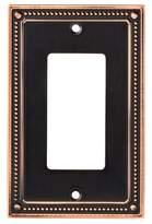 Franklin Brass Classic Beaded Single Decorator Wall Plate