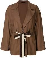 Golden Goose Deluxe Brand drawstring v-neck jacket