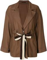 Golden Goose drawstring v-neck jacket