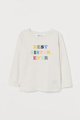 H&M Long-sleeved Sibling Shirt