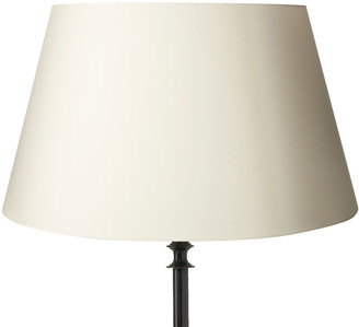 OKA 56cm Drum Cotton Lampshade - Off White