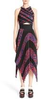 Proenza Schouler Women's Pleated Cloque Midi Dress