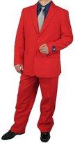 Men's Dress Suit Stylish 2-Piece Men's Regular Fit Dress Suit - 40L