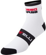 Castelli Men's Rosso Corsa 6 Cycling Socks 8121142