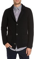 Sand Men's Trim Fit Knit Cardigan Jacket