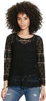Denim & Supply Ralph Lauren Embroidered Tulle Top