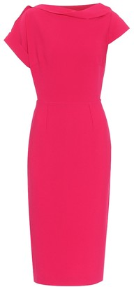 Roland Mouret Brenin stretch-crApe dress