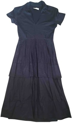 Richard Nicoll Navy Cotton Dress for Women