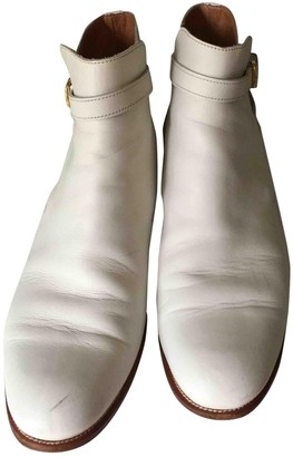 Church's Beige Leather Ankle boots