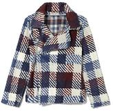 Vince Camuto Two by Faux Fur Plaid jacket