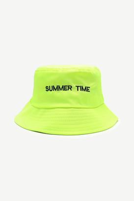 Ardene Neon Summer Time Bucket Hat