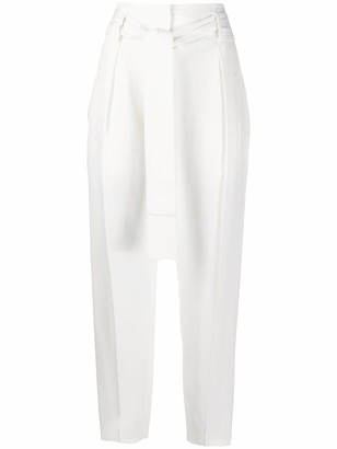 Elisabetta Franchi High Waisted Trousers
